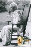 15683 San Marino,  Maximum 2010,  American Writer Mark Twain - Scrittori