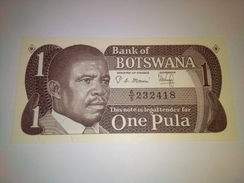 BOTSWANA 1983 1 PULA P-6  BANKNOTE LOC#A1271 - Botswana