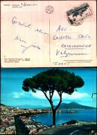 4252a)cartolina -napoli Panorama Ed.carcavallo - Ercolano