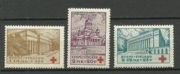 FINLAND FINNLAND 1932 Michel 173 - 175 MNH - Finland