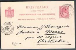 Nederland, 1901, For Ardeche - Periode 1891-1948 (Wilhelmina)