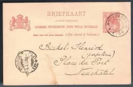 Nederland, 1902, For Neuchatel - Periode 1891-1948 (Wilhelmina)