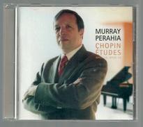 CD PIANO -  CHOPIN : ETUDES  - MURRAY PERAHIA, Piano - Klassik