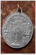 """Médaillon Pendentif Médaille Religieuse """"Congrégation Du Très Saint Sacrement - Garde D´honneur"""" - Religious Medal - Religion & Esotérisme"""