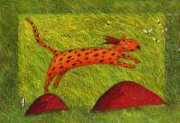 Gaelle BOISSONNARD, Correspondances, Leopard? Avec Couronne - Altre Illustrazioni