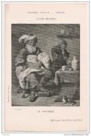 """LE  DENTISTE ,,,, Par DAVID  TENIERS,,,,OFFERT Par """"  L´  AGENDA  GONNON """"  TBE,,,  13 X 20  Cm - Malerei & Gemälde"""