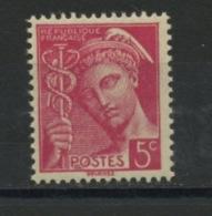 FRANCE - TYPE MERCURE - N° Yvert 406 ** - 1938-42 Mercure