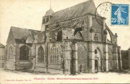 N°52118 -cpa Chaource -église- - Chaource
