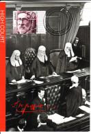 Australia 2003 Maxicard Scott #2185 50c Sir Samuel Griffith - High Court Centenary - Métiers
