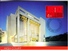 Australia 2003 Maxicard Scott #2186 $1.45'Justice', Significant Cases - High Court Centenary - Bâtiments & Architecture
