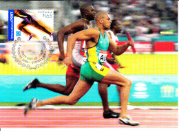 Australia 2004 Maxicard Scott #2261 $1.65 Runner - 2004 Olympic Summer Games - Jeux Olympiques