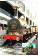 Australia 2004 Maxicard Scott #2287 50c Sydney To Parramatta - Railways - Cartes-Maximum (CM)