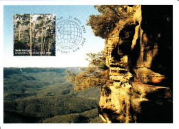 Australia 2005 Maxicard Scott #2371 50c Greater Blue Mountains, NSW - World Heritage Sites - Cartes-Maximum (CM)