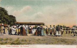 RRR! Fiesta Campestre EL PERICON (Argentina) Karte Gelaufen 1906 Nach Nürnberg, 6 Centavos Frankierung ... - Argentinien