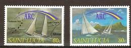 Saint Lucia Sainte Lucie 1991 Yvertn° 977-978 *** MNH Cote 4 Euro - St.Lucie (1979-...)