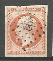 France - F1/040 - Type Napoleon III - N°16 Obl. Losange PC1892 MARQUISE - 1853-1860 Napoléon III