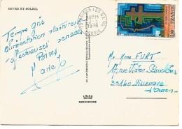 OBLITERATION DE BRIDES LES BAINS (SAVOIE) 1978 - Marcophilie (Lettres)