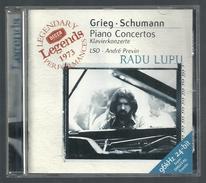 CD PIANO -  GRIEG/ SCHUMANN : CONCERTOS POUR PIANO - RADU LUPU, Piano - Klassik