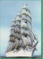 Bateau - Sedov Russian 4 Masted Bark. Built In 1921 As Magdalene Vinnen - Segelboote