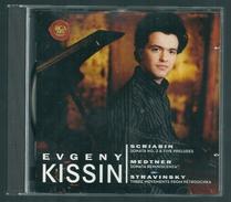 CD PIANO -  SCRIABIN / MEDTNER / STRAVINSKY - EVGENY KISSIN, Piano - Klassik