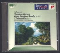CD PIANO -  SCHUBERT - LEON FLEISHER, NELSSON FREIRE, Piano - Klassik