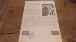 68/DOCUMENT PHILATELIQUE PREMIER JOUR  SATELLITE SYMPHONIE - Documents De La Poste