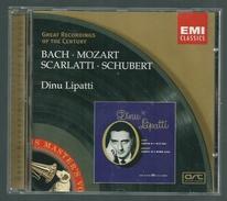 CD PIANO -  BACH / MOZART / SCARLATTI / SCHUBERT - DINU LIPATTI, Piano - Klassik