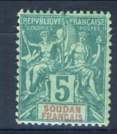 Sudan 1894 N. 5 C. 5 Verde MH Catalogo €12