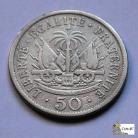 Haití - 50 Cents - 1908 - Haïti
