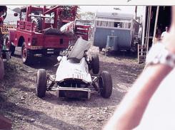 CPSM (81) ALBI Circuit Automobile Courses 1971 Voiture Accidentée Tirage Limité - Cartes Postales