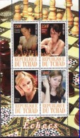 2010 Tchad Chess MNH ** PRIVATE ISSUE - Schaken