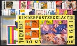 Niederlande Jahrgang 1996 ** Komplett Mit Fünf Blocks - 1980-... (Beatrix)