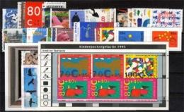 Niederlande Jahrgang 1995 ** Komplett Mit Drei Blocks - 1980-... (Beatrix)
