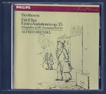 """CD PIANO - BEETHOVEN : VARIATIONS """"EROÏCA"""", BAGATELLES ET ECOSSAISES - ALFRED BRENDEL, Piano - Classique"""