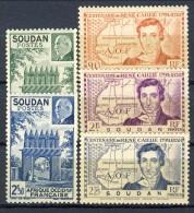 Sudan 1939 - 41  Due Serie N. 100-102 E 129-130 MNH Catalogo € 5,50