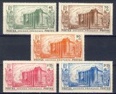 Sudan 1939  Serie N. 105-109 Rivoluzione MLH Catalogo € 75