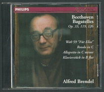 CD PIANO - BEETHOVEN : BAGATELLES - ALFRED BRENDEL, Piano - Classique