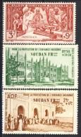 Sudan Posta Aerea 1942 Serie N. 6-8 MNH 2,50