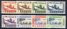 Sudan Posta Aerea 1942 Serie N. 10-17 MNH Catalogo € 10