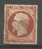 France - F1/054 - Type Napoleon III - N°17A Obl. Pointillé - 1853-1860 Napoléon III