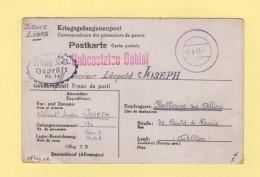 Correspondance De Prisonniers De Guerre - Oflag XB - 7-6-1941 - Destination Bellerive Sur Allier - Marcophilie (Lettres)