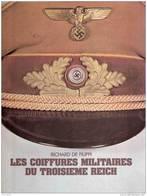 COIFFURE MILITAIRE 3e REICH FILIPPI NSDAP PARTI ARMEE WEHRMACHT LUFT KM AK WAFFEN CASQUETTE CALOT - 1939-45