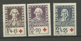 FINLAND FINNLAND 1935 Michel 188 - 190 MNH - Unused Stamps