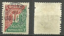 FINLAND HELSINKI 1871 Local City Post Stadtpost O - Finland