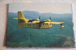 CANADAIR  CL 215  N° 24  SECURITE CIVILE  EDITION PI N° 395 - 1946-....: Moderne
