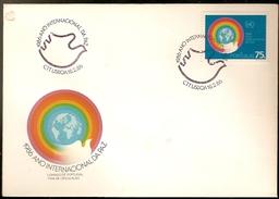 Portugal & FDC International Year Of Peace, Lisbon 1986 (1749) - FDC