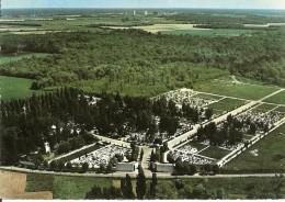 91. CPM. Essonne. Sainte-Geneviève Des Bois. Le Cimetière Russe (vue Aérienne) - Sainte Genevieve Des Bois