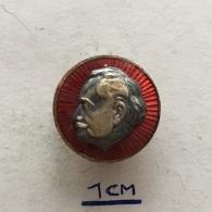 Badge (Pin) ZN003950 - Georgi Dimitrov Mikhaylov Communist Bulgaria - Celebrities