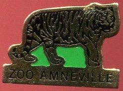 Pin´s - Parc Zoologique D'Amnéville (Moselle 57) - Tigre (Au Verso Penn) - Animaux