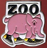 Pin's - Zoo - Éléphant - Animaux
